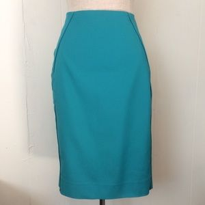 Lagoon Perfect Form Pencil Skirt